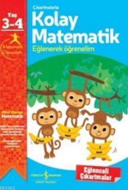 Çıkartmalarla Kolay Matematik (3-4 Yaş); Eğlenerek Öğrenelim