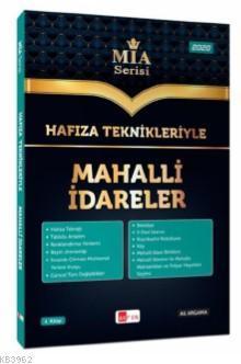 Hafıza Teknikleriyle Mahalli İdareler MİA Serisi Ali Argama Akfon Yayınları 2020; Tüm Kurum Sınavları İçin