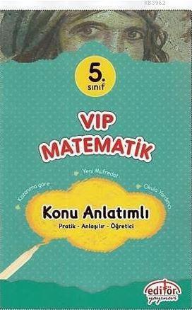 5. Sınıf VIP Matematik Konu Anlatımlı