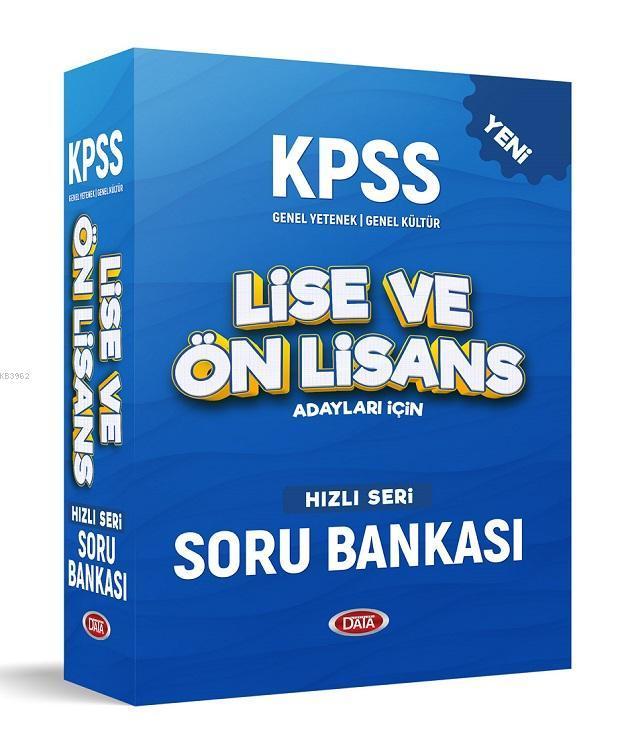 KPSS Lise & Ön Lisans Hızlı Soru Bankası Seti