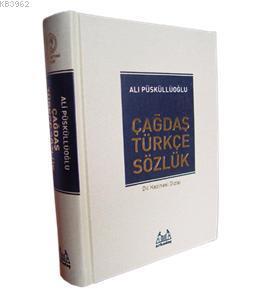 Çağdaş Türkçe Sözlük (Özel Altın Varaklı ve Ciltli)