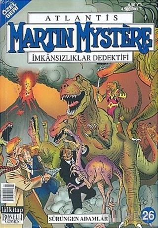 Atlantis (Özel Seri) Sayı: 26 Sürüngen Adamlar Martin Mystere İmkansızlıklar Dedektifi