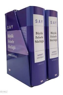 Say Büyük Felsefe Sözlüğü 1 -2 Cilt TK  (Ciltli ) Kutu Muhafazalı