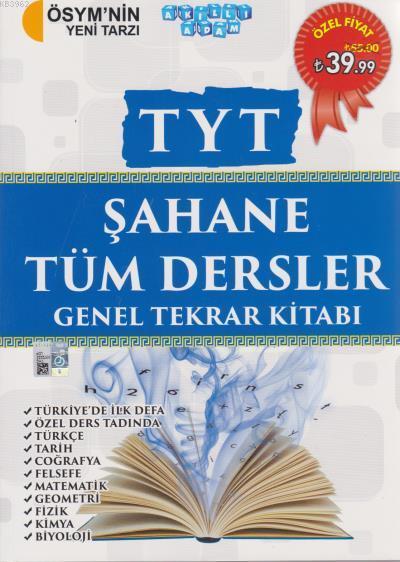 TYT Şahane Tüm Dersler Genel Tekrar Kitabı 2018