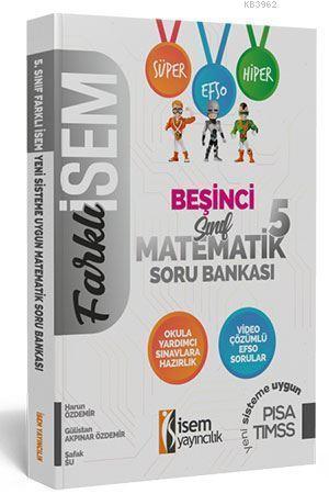 İsem Yayınları 5. Sınıf Matematik Soru Bankası İsem