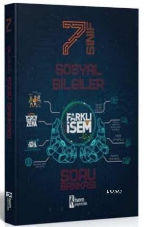 İsem 2021 7.Sınıf Farklı İsem Sosyal Bilgiler Soru Bankası İsem Yayıncılık
