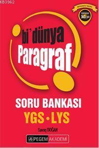 Ygs - Lys Bi'Dünya Paragraf; Soru Bankası 2016