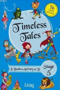 Stage 5-Timeless Tales 8 Books+Activity+CD