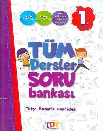 1.Sınıf TDY Yayınları Soru Bankası-Tdy
