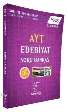 Karekök Yayınları AYT Edebiyat Soru Bankası Karekök