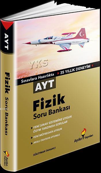 Aydın Yayınları AYT Fizik Soru Bankası Aydın