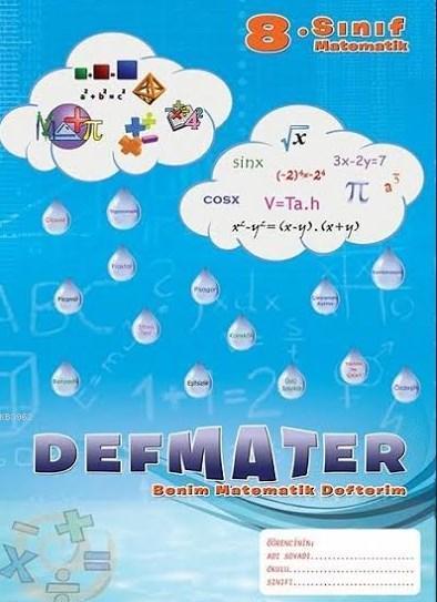 Defmater -  Benim Matematik Defterim; 8. Sınıf Matematik