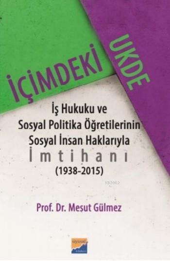 İçimdeki Ukde; ş Hukuku ve Sosyal Politika Öğretilerinin Sosyal İnsan Haklarıyla İmtihanı (1938?2015)