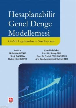 Hesaplanabilir Genel Denge Modellemesi; GAMS Uygulaması ve Simülasyonlar