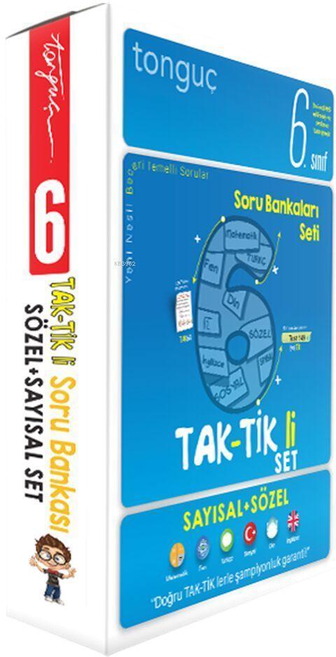 Tonguç 6.Sınıf Taktikli Tüm Dersler Soru Bankası Seti