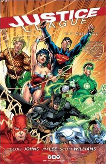 Justice League - Cilt 1: Başlangıç