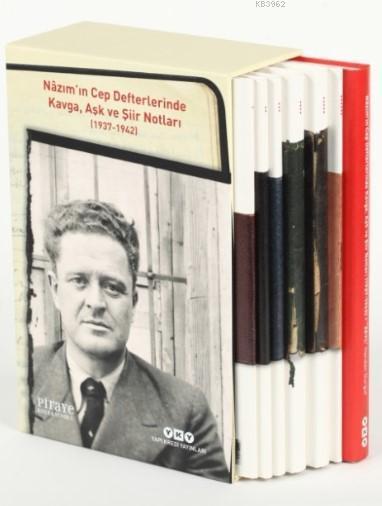Nazım'ın Cep Defterlerinde Kavga, Aşk ve Şiir Notları (1937-1942); (7 Kitap Set)