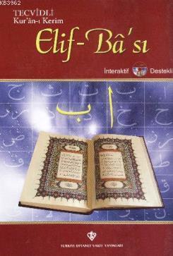 Tecvidli Kuranı Kerim Elif-Ba'sı (Cd'li)