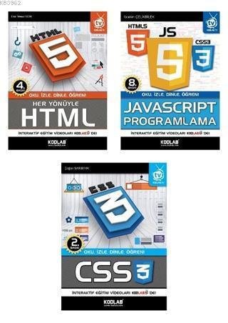 Web Programlama Seti (3 Kitap Takım)