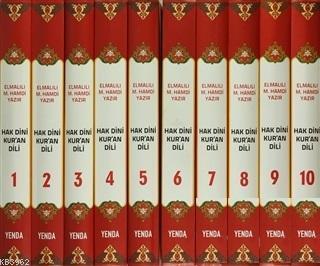 Hak Dini Kur'an Dili (10 Cilt)