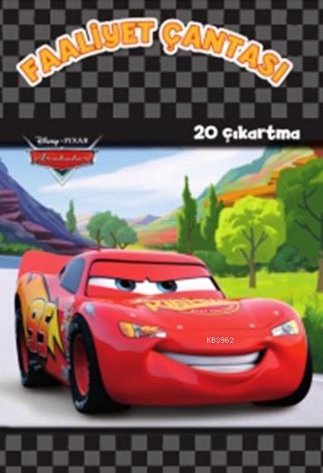 Disney Arabalar Faaliyet Çantası (+3 Yaş); 20 Çıkartma