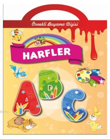 Örnekli Boyama - Harfler