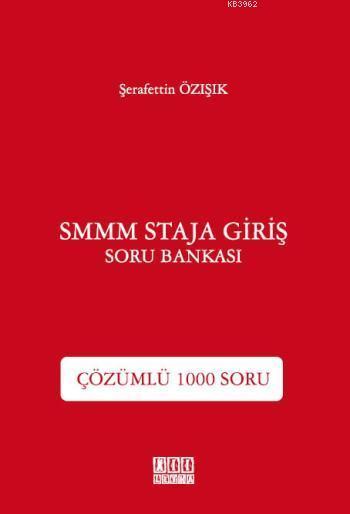 SMMM Staja Giriş Soru Bankası