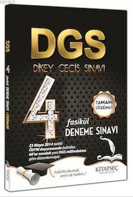 DGS 4 Fasikül Deneme Yeni Sisteme Uygun Çözümlü