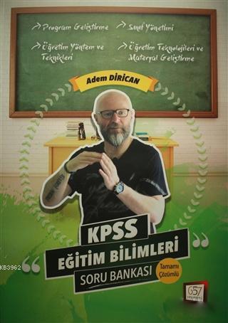 2018 KPSS Eğitim Bilimleri Soru Bankası (Tamamı Çözümlü)