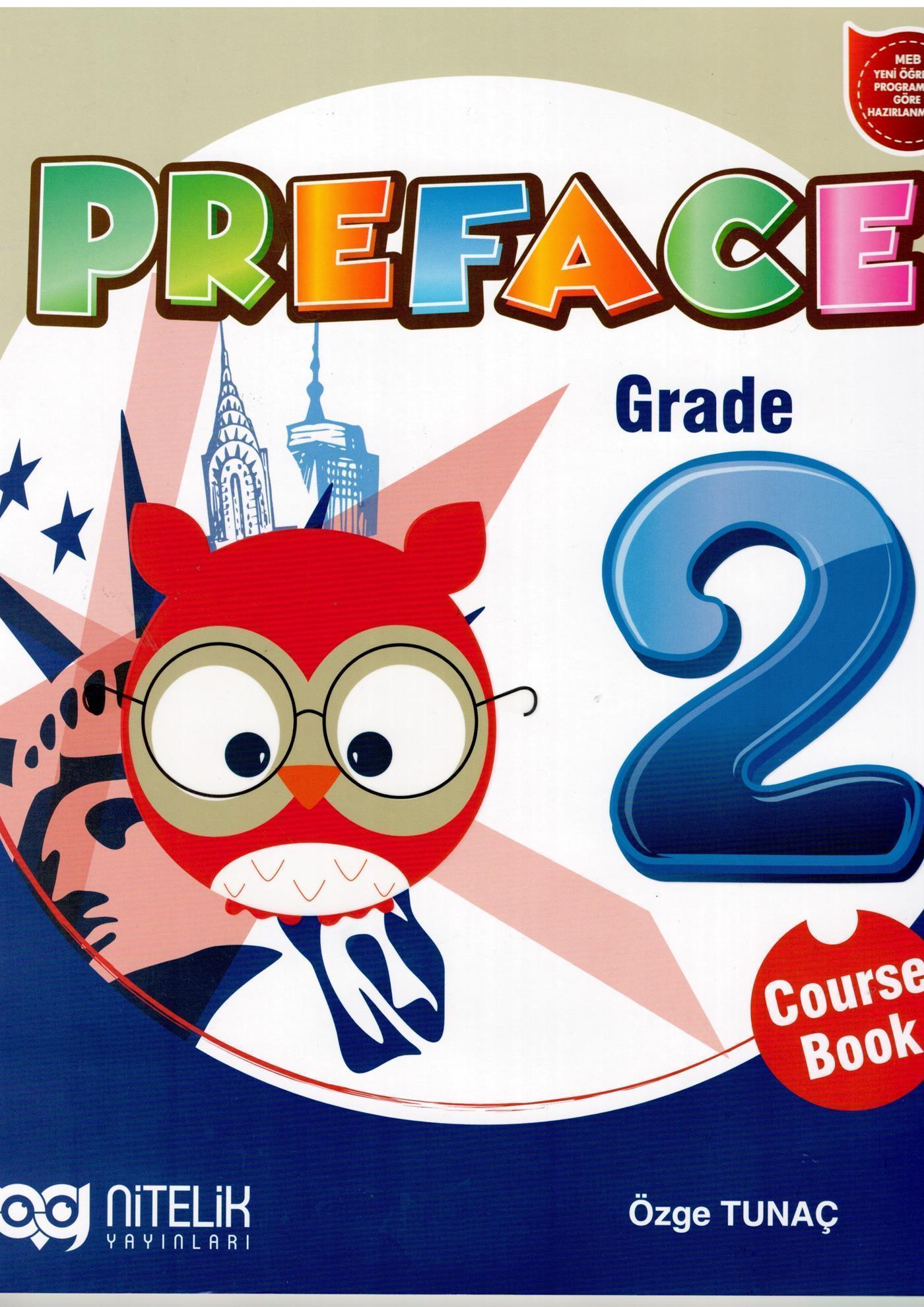 Nitelik Yayınları 2. Sınıf İngilizce Preface Course Book Nitelik