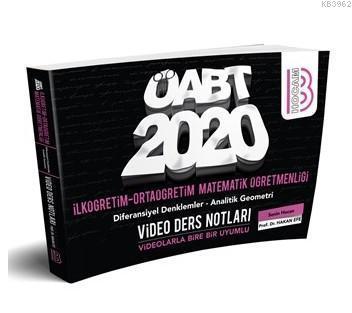 2020 ÖABT İlköğretim ve Ortaöğretim Matematik Öğretmenliği Diferansiyel Denklemler; Analitik Geometri Video Ders Notları Benim Hocam Yayınları