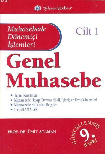 Genel Muhasebe - Cilt 1