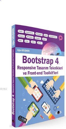 Bootstrap 4 (Cd Hediyeli); Responsive Tasarım Teknikleri Ve Front-end Toolkit'leri