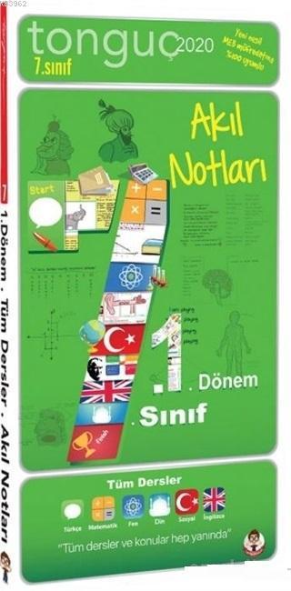 Tonguç Yayınları 6. Sınıf 1. Dönem Akıl Notları Tonguç