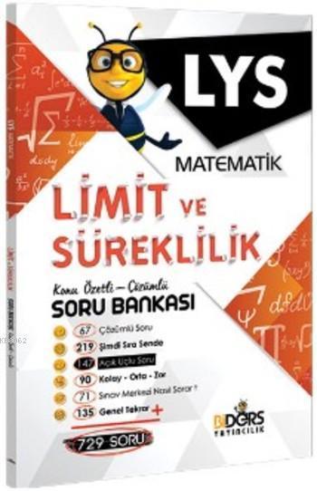 LYS Matematik Limit ve Süreklilik Konu Özetli Çözümlü Soru Bankası