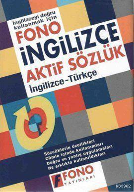 Fono İngilizce Aktif Sözlük (İngilizce-Türkçe)