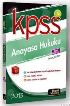 KPSS A Anayasa Hukuku Konu Anlatımlı