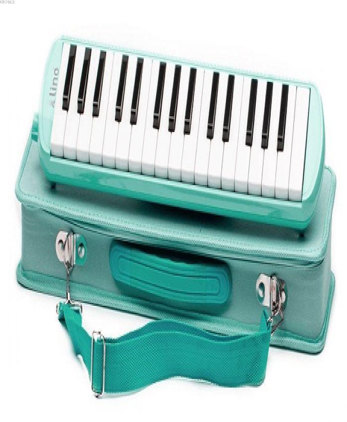 Lino Melodika 32 Tuşlu Çantalı Pastel Yeşil Ln-32-Pye