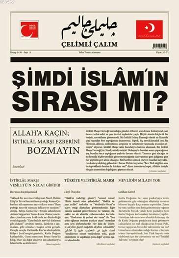 Çelimli Çalım; Türk Milliyetçilerinin Mecmuası Yıl: 1 Sayı: 11