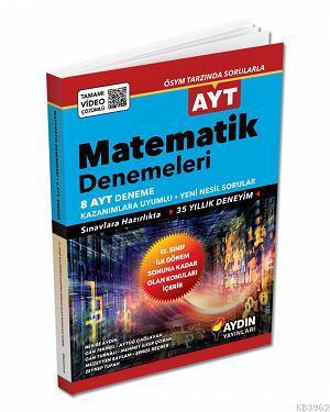 Aydın Yayınları AYT Matematik 8 Deneme 2020 Özel Aydın