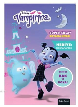 Disney - Vampirina Süper Kolay Boyama Kitabı