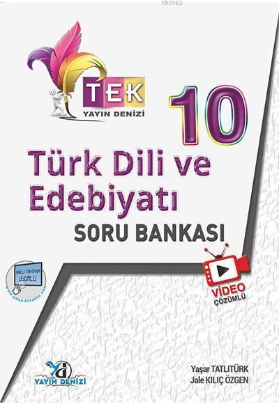 10.Sınıf Tek Vd.Çöz. S.B. Türk Edebiyatı - 2019-20