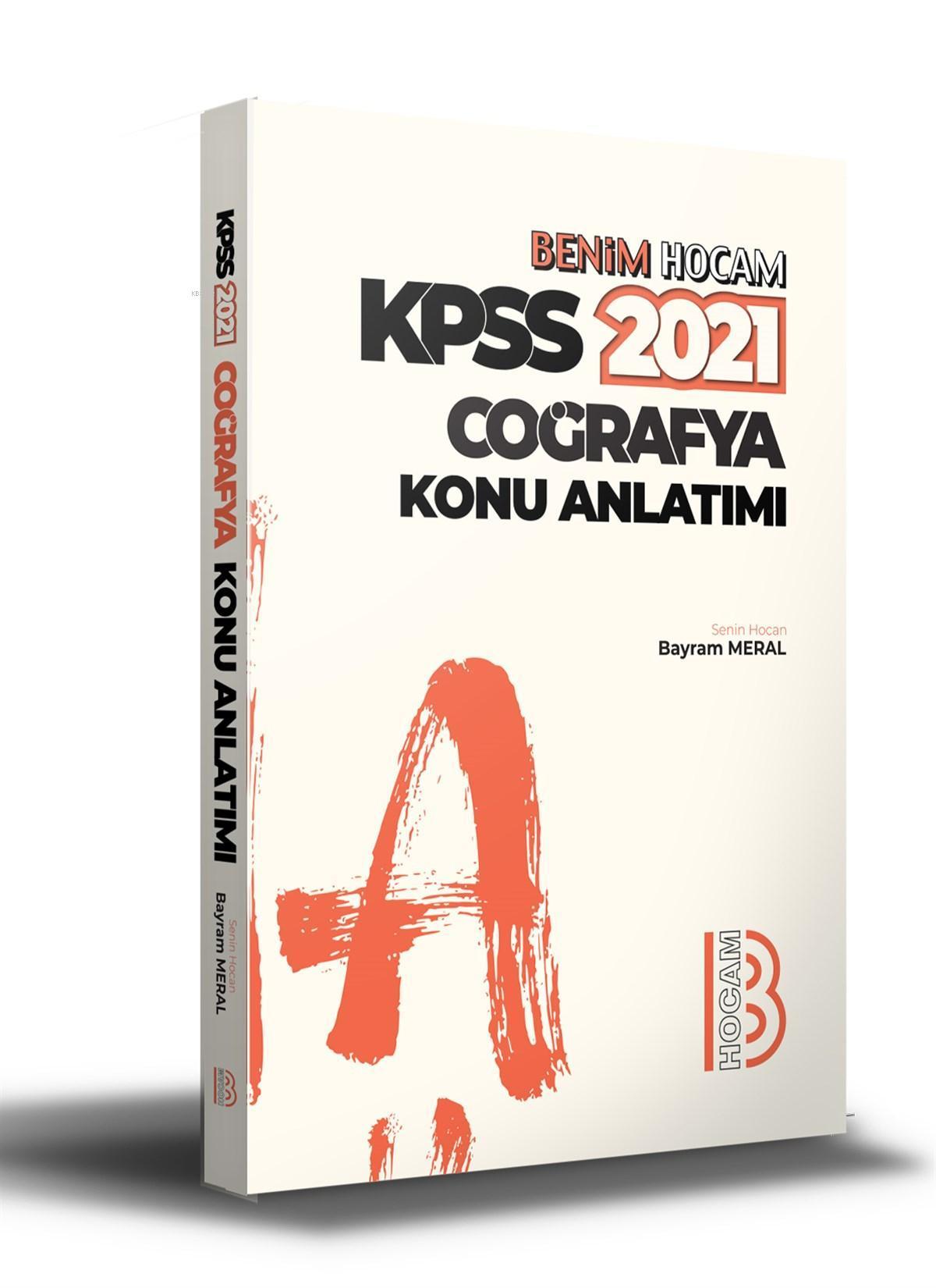 2021 KPSS Coğrafya Konu Anlatımı Benim Hocam Yayınları