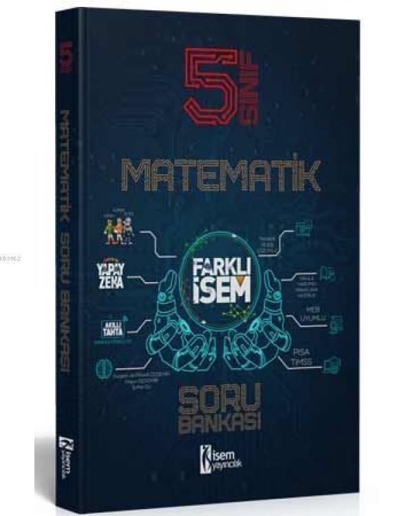 İsem 2021 5.Sınıf Farklı İsem Matematik Soru Bankası İsem Yayıncılık