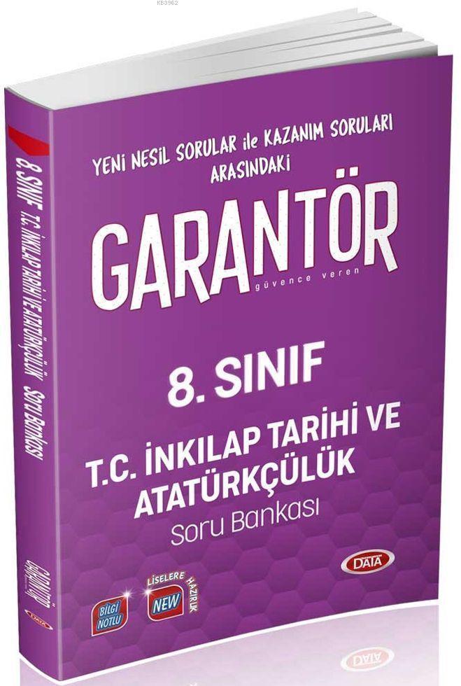8. Sınıf Garantör T.C. İnkılap Tarihi ve Atatürkçülük Soru Bankası