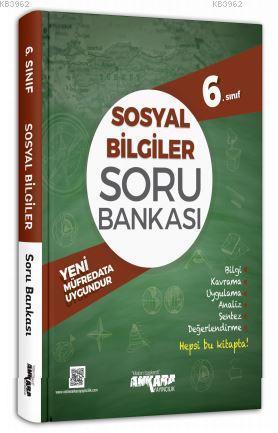 Ankara Yayınları 6. Sınıf Sosyal Bilgiler Soru Bankası Ankara