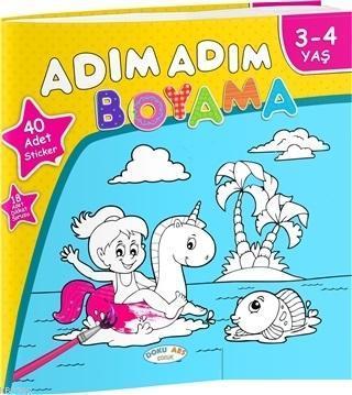 Adım Adım Boyama 3-4 Yaş