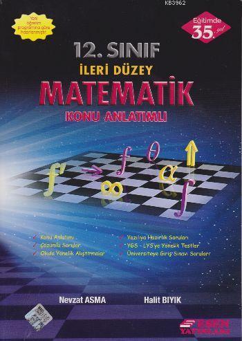 12. Sınıf İleri Düzey Matematik Konu Anlatımlı