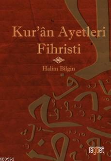 Kuran Ayetleri Fihristi (Ciltli)