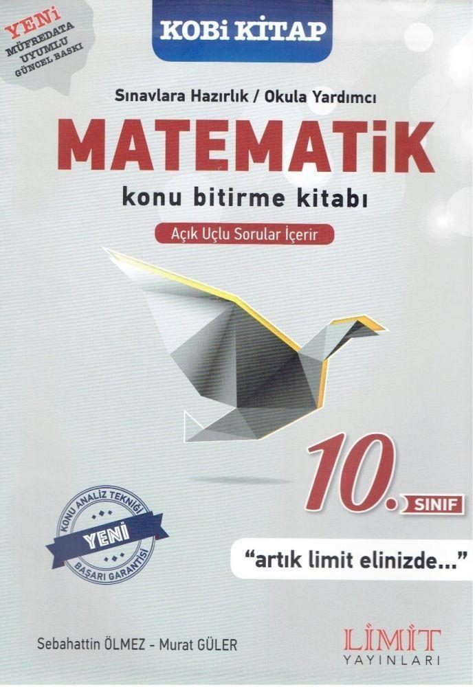 Limit Yayınları 10. Sınıf Matematik Konu Bitirme Kitabı Limit